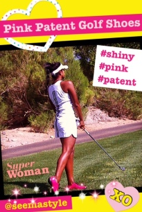 Seema_Style_Pink_Patent_Golf_Shoes